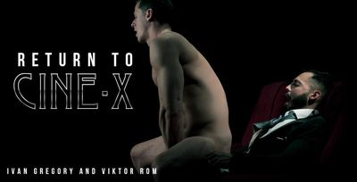 Ivan Gregory and Viktor Rom in Return to Cine-X