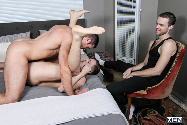 19 Alex Mecum and Tyler Rush in Watching My Husband Part 2