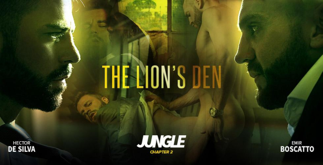 Men at Play Jungle: The Lion's Den Starring Hector de Silva and Emir Boscatto