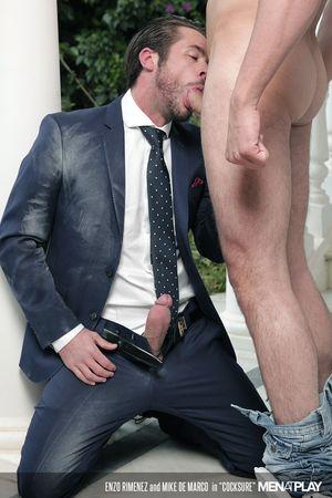 Enzo Rimenez and Mike De Marco in Cocksure_04