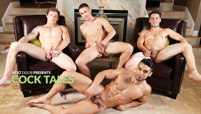 Cock Tales Featuring Arad, Colt Rivers, Jordan Evans, and Markie More