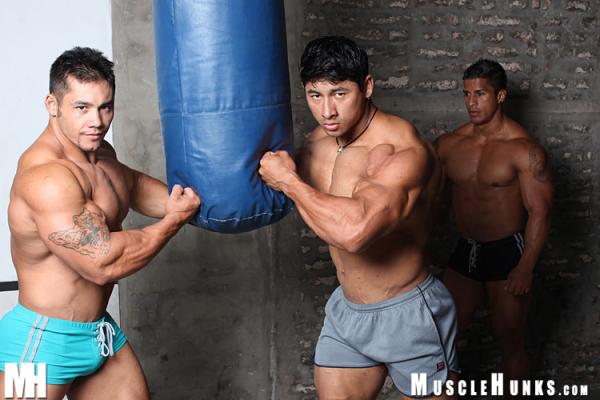 New wrestling! - Ko Ryu, Timmy Riordan and New MuscleHunk