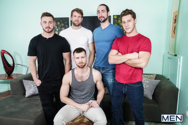 Men  My Whore Of A Roommate  Featuring Colby Keller, Jacob Peterson, Paul Canon -8398