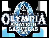 2018 Olympia Amateur Las Vegas
