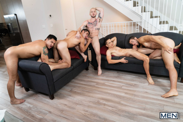 The Longest Erection Of My Life Part 3 (BAREBACK) Featuring Cazden Hunter, Colton Grey, Dante Colle, Dominic Pacifico, Marcus Tresor 0009