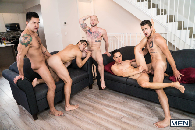 The Longest Erection Of My Life Part 3 (BAREBACK) Featuring Cazden Hunter, Colton Grey, Dante Colle, Dominic Pacifico, Marcus Tresor 0010