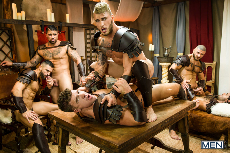 Sacred Band Of Thebes Part 4 Featuring D.O., Diego Sans, Francois Sagat, JJ Knight, Ryan Bones, William Seed (0024)