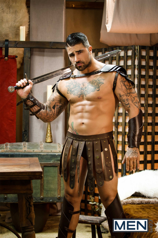 Sacred Band Of Thebes Part 4 Featuring D.O., Diego Sans, Francois Sagat, JJ Knight, Ryan Bones, William Seed (0005)