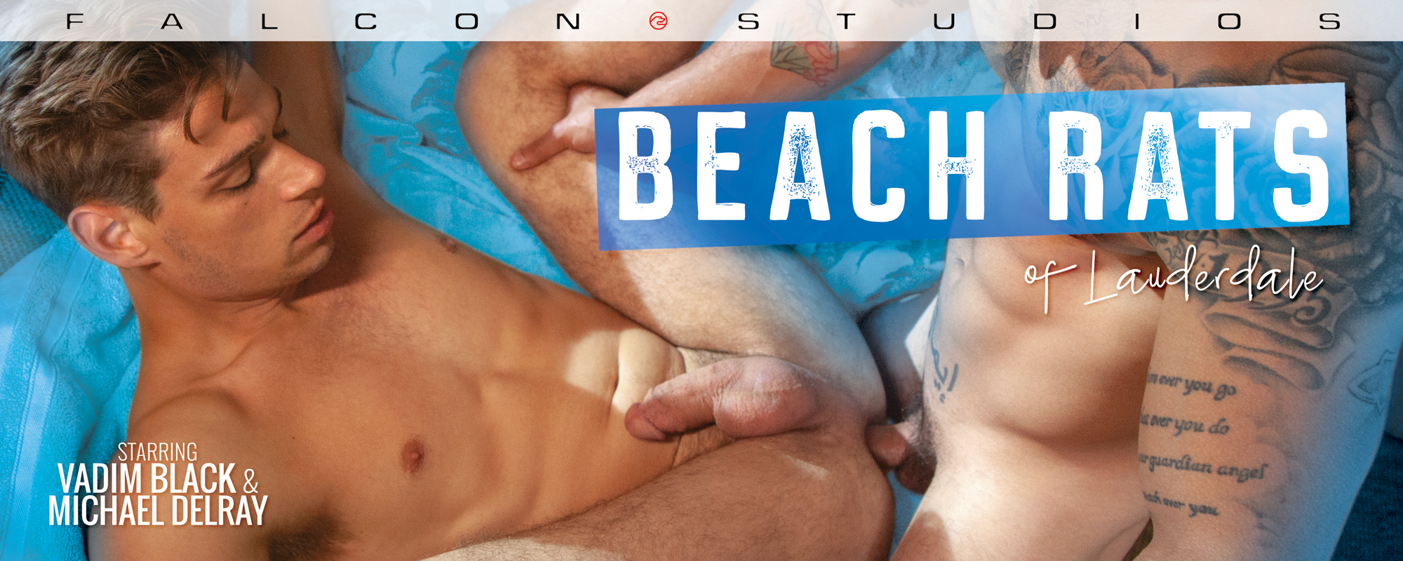 Beach Rats of Lauderdale, Scene 3 Featuring Michael Delray and Vadim Black