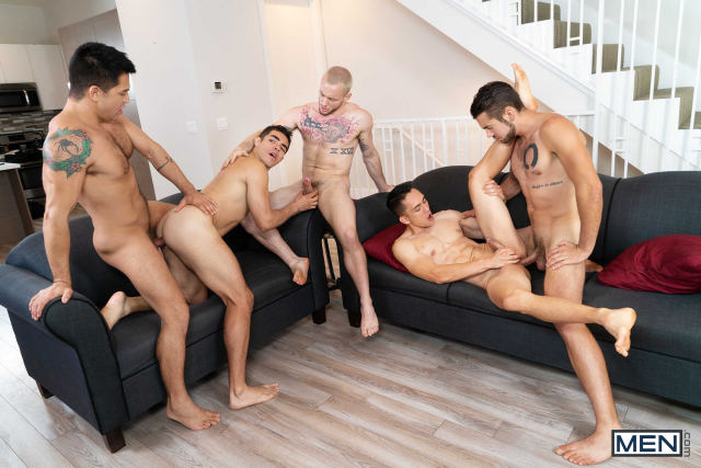 The Longest Erection Of My Life Part 3 (BAREBACK) Featuring Cazden Hunter, Colton Grey, Dante Colle, Dominic Pacifico, Marcus Tresor 0012