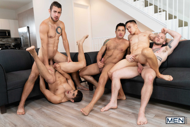 The Longest Erection Of My Life Part 3 (BAREBACK) Featuring Cazden Hunter, Colton Grey, Dante Colle, Dominic Pacifico, Marcus Tresor 0014