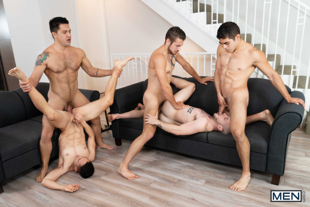 The Longest Erection Of My Life Part 3 (BAREBACK) Featuring Cazden Hunter, Colton Grey, Dante Colle, Dominic Pacifico, Marcus Tresor 0016