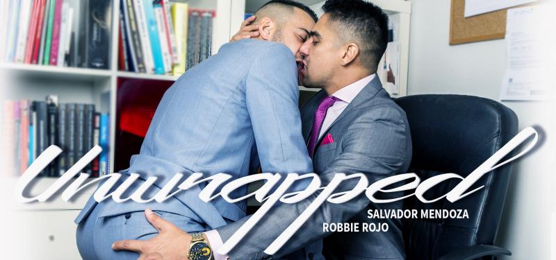 Men at Play Unwrapped Starring Robbie Rojo and Salvador Mendoza