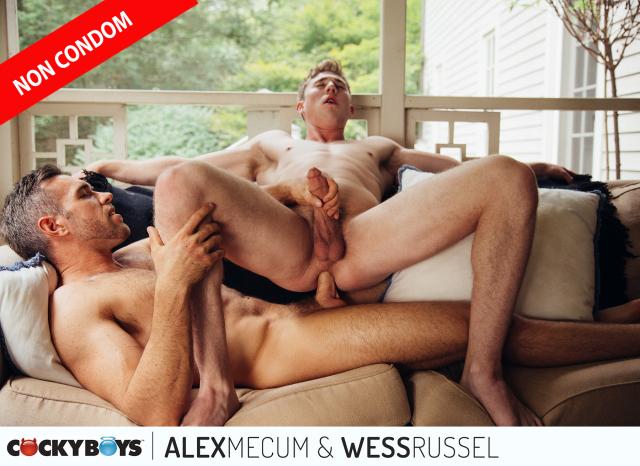 Alex Mecum & Wess Russel RAW