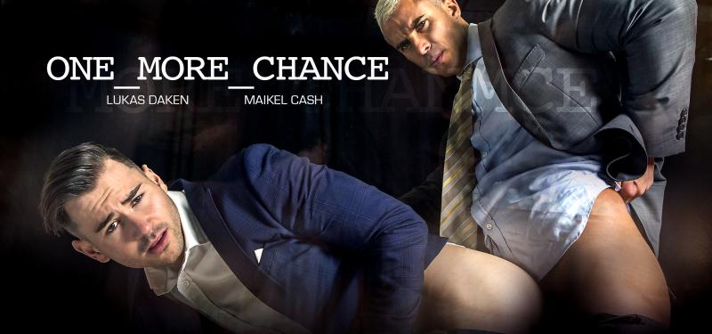 Men at Play One More Chance Starring Lukas Daken and Maikel Cash