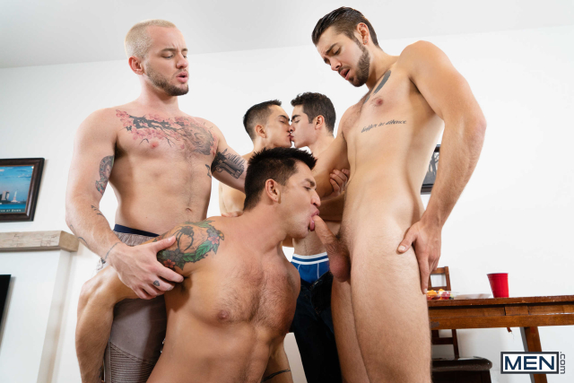 The Longest Erection Of My Life Part 3 (BAREBACK) Featuring Cazden Hunter, Colton Grey, Dante Colle, Dominic Pacifico, Marcus Tresor 0008