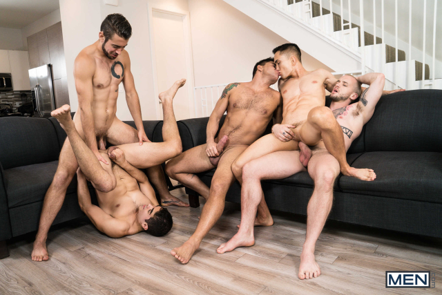 The Longest Erection Of My Life Part 3 (BAREBACK) Featuring Cazden Hunter, Colton Grey, Dante Colle, Dominic Pacifico, Marcus Tresor 0013