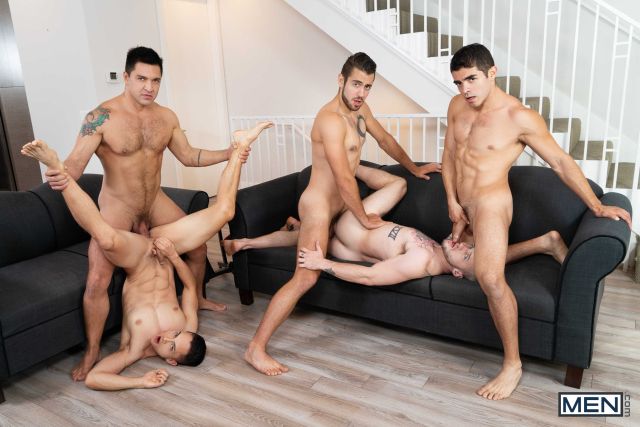 The Longest Erection Of My Life Part 3 (BAREBACK) Featuring Cazden Hunter, Colton Grey, Dante Colle, Dominic Pacifico, Marcus Tresor 0018