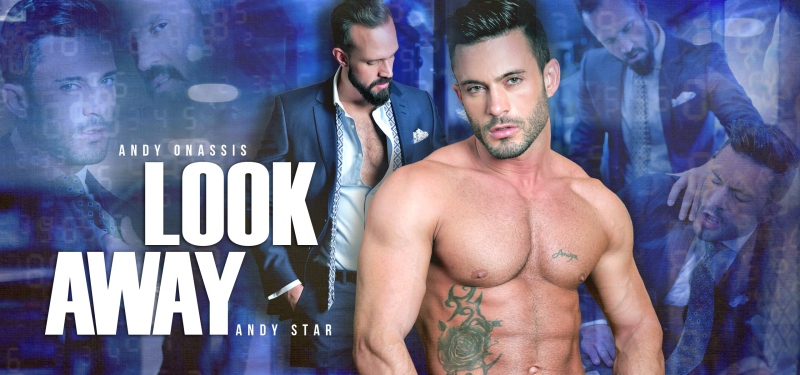 Men at Play Look Away Starring Andy Onassis and Andy Star