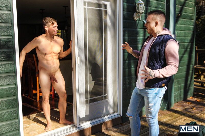 Renting From The Nudist Featuring Ethan Chase and Theo Ross (0001)