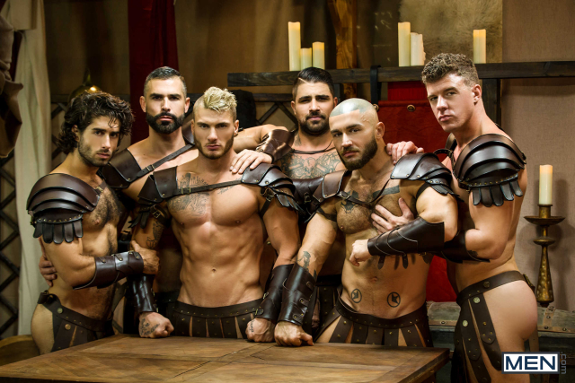 Sacred Band Of Thebes Part 4 Featuring D.O., Diego Sans, Francois Sagat, JJ Knight, Ryan Bones, William Seed (0007)
