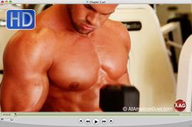 20130615 Cody Redmond  gym warm up