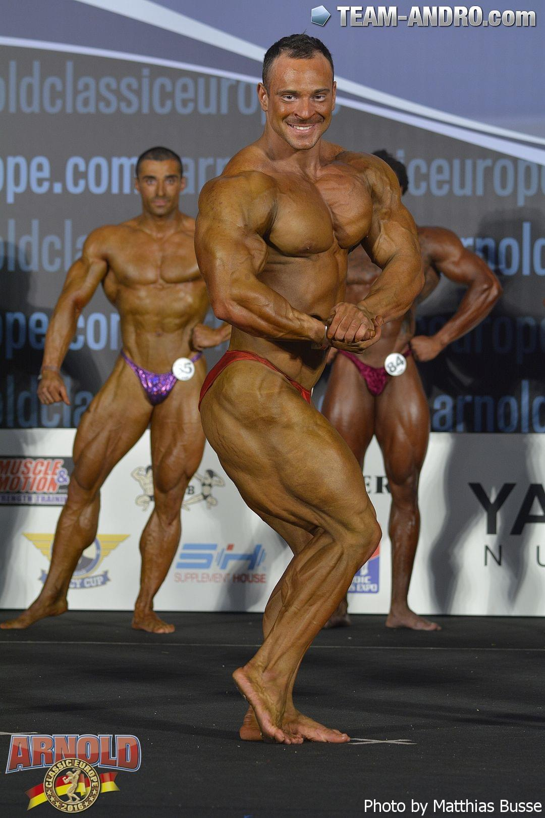 Andrey Maslennikov - 2016 Arnold Amateur Europe