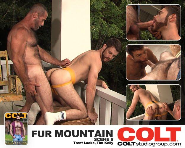 Colt Studios Fur Mountain, Scene 6 Starring Tim Kelly and Trent Locke