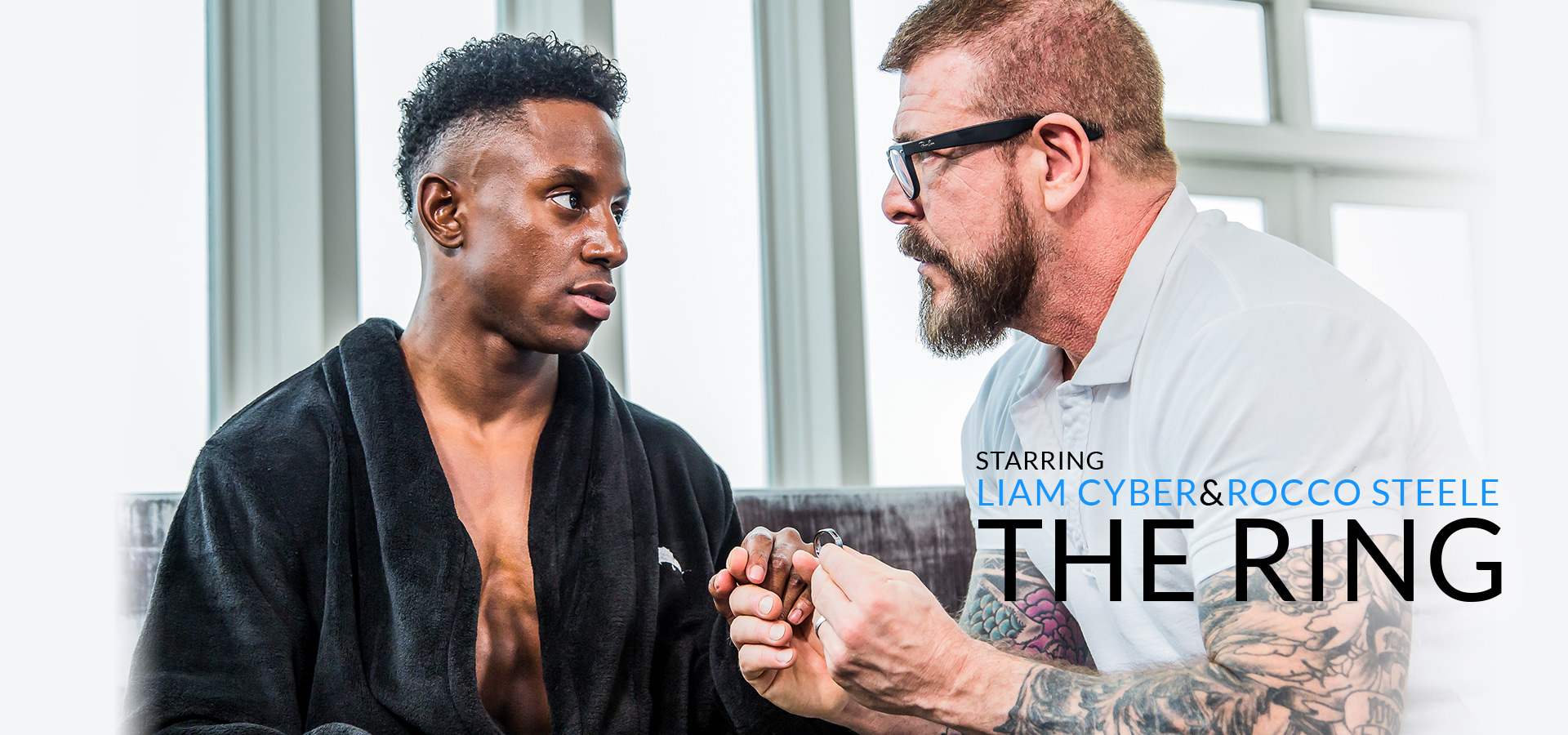 Noir Male The Ring Featuring Liam Cyber and Rocco Steele