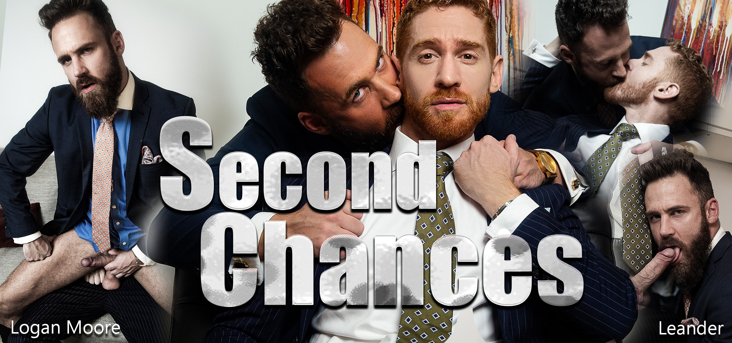 Men at Play Second Chances Starring Leander and Logan Moore