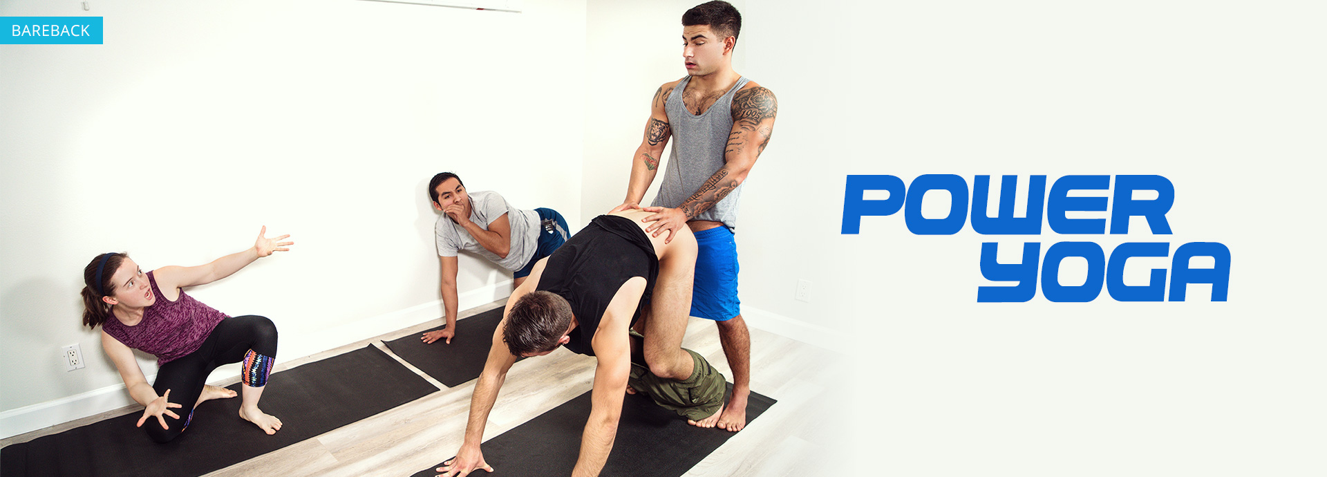 Men Power Yoga Featuring Dante Colle and Vadim Black