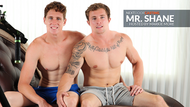 Buddies Casting: Mr. Shane Featuring Markie More and Mr. Shane