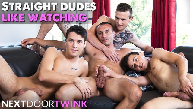 Straight Dudes Like Watching Featuring Evan Landers, Ian Oakley, Marc Montana, and Scott Finn