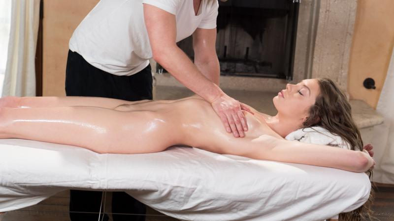 Schlampe Mosen Bikini Massage