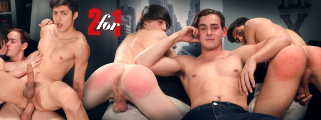 Helix Studios 2 for 1 Featuring Angel Rivera, Cole Claire, and Josh Brady