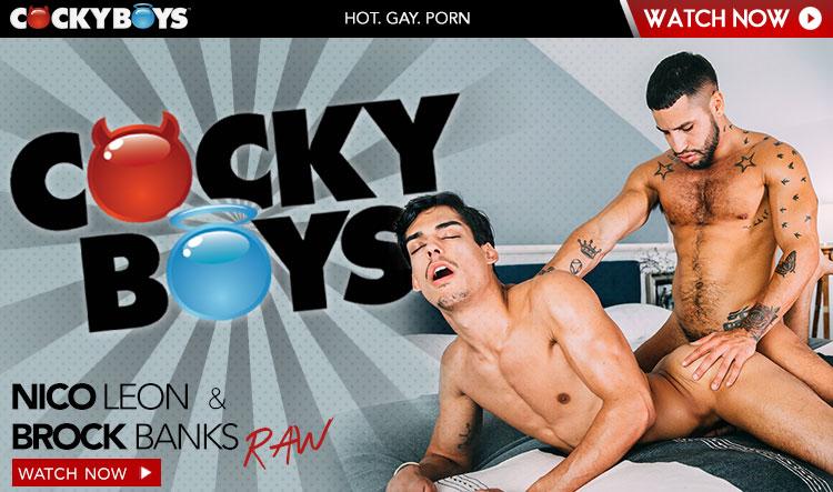 Brock Banks & Nico Leon (BAREBACK)