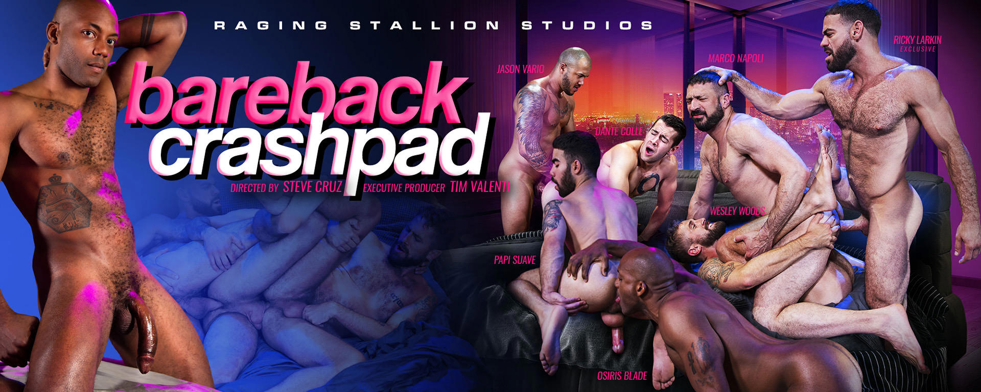Raging Stallion | Bareback Crashpad