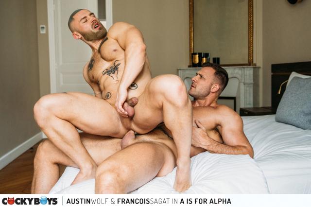 Austin wolf-francois sagat a-for-alpha-8844