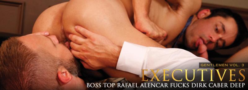 Gentlemen 03: Executives, Scene 2 Boss Top Rafael Alencar Fucks Dirk Caber Deep
