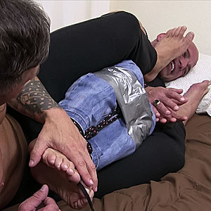 Joey's Forced Foot Worship Featuring Joey J and Tony D
