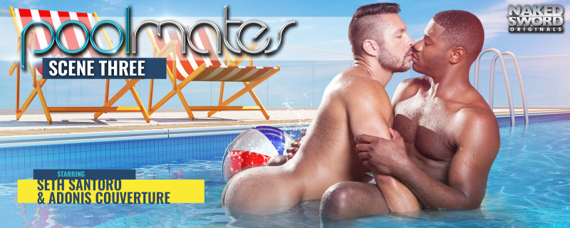 Pool Mates, Scene 3 Featuring Adonis Couverture and Seth Santoro