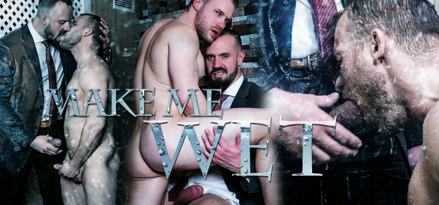 Men at Play Make Me Wet Starring Andy Onassis and Malek Tobias