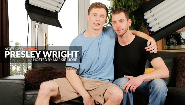 Buddies Casting: Presley Wright Featuring Markie More and Presley Wright