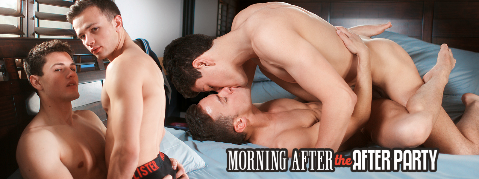 Helix Studios Morning After the After Party Featuring Corey Marshall and Logan Cross