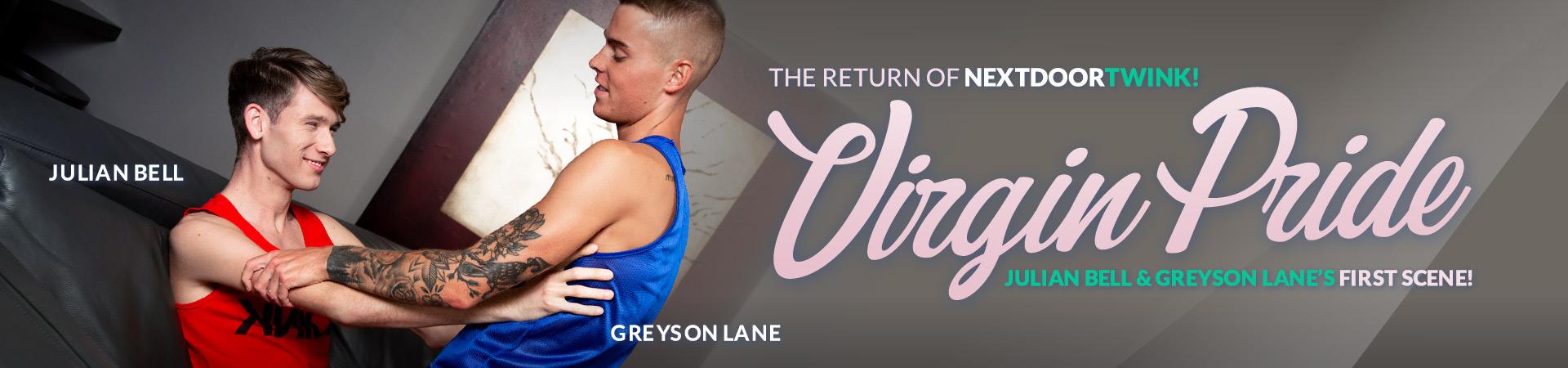 Next Door Studios Virgin Pride Featuring Greyson Lane and Julian Bell