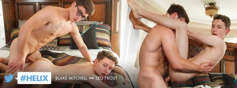 #Helix: Blake Mitchell and Leo Frost
