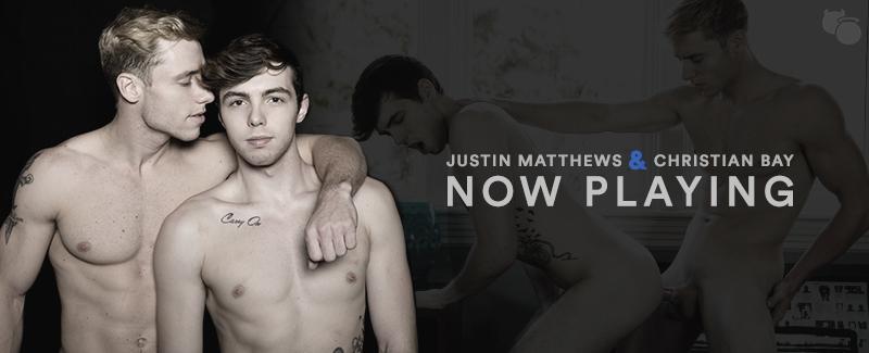 Justin Matthews Fucks Christian Bay