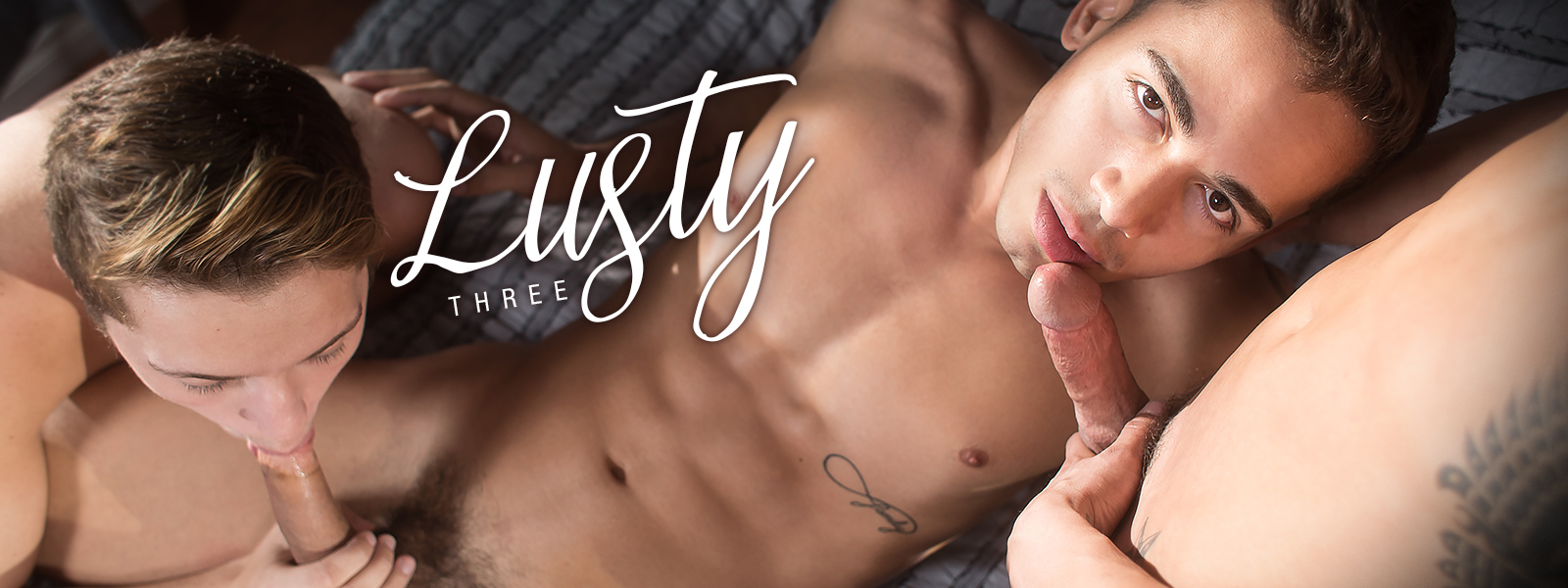 Helix Studios Lusty Three Featuring Andy Taylor, Ashton Summers, and Jacob Hansen
