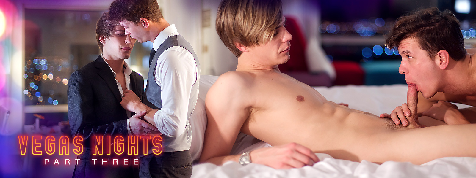Helix Studios Vegas Nights: Part Three Featuring Johnny Hands and Kyle Ross