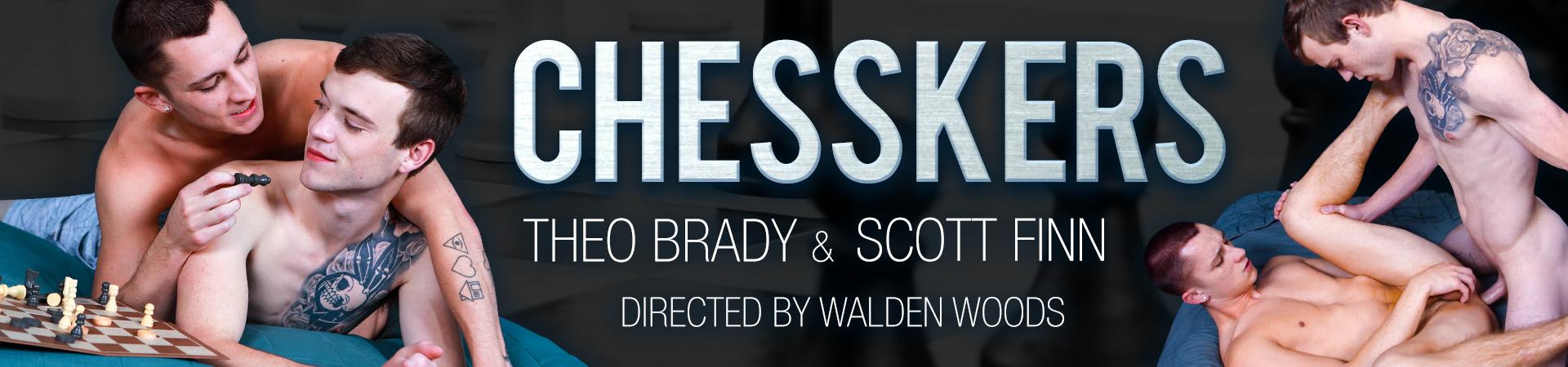 Next Door Studios Chesskers Featuring Scott Finn and Theo Brady